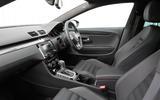 Volkswagen CC Black Edition front seats