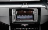 Volkswagen CC Black Edition infotainment
