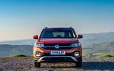 Volkswagen T-Cross front profile static