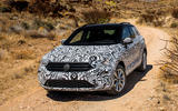 Volkswagen T-Roc prototype off-roading