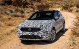 Volkswagen T-Roc prototype off-roading