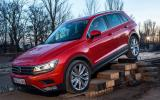 Volkswagen Tiguan TSI 4Motion off-roading