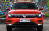 Volkswagen Tiguan front end
