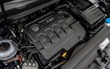 1.6-litre Volkswagen Touran diesel engine