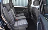 Volkswagen Touran rear seats