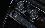 Volkswagen Touran climate controls