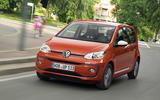 Volkswagen Up 1.0 TSI cornering