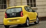 Volkswagen Look Up rear cornering