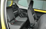 Volkswagen Look Up rear seats