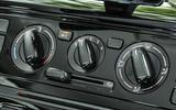 Volkswagen Look Up climate controls