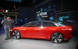 The Volkswagen ID Vizzion concept