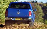 Volkswagen Amarok rear off-roading