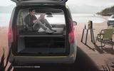 VW Caddy Beach rear