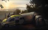 VW Caddy Beach tent