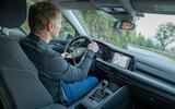 Volkswagen Golf 2020 first drive review - Greg Kable driving corner