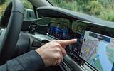 Volkswagen Golf 2020 first drive review - Greg Kable infotainment