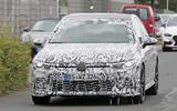 VW Golf GTI Mk8 spied
