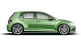 Volkswagen Golf as imagined by Autocar
