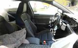 Volkswagen Golf R Mk8 spyshots interior
