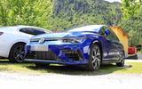 Volkswagen Golf R Mk8 spyshots front low
