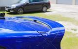 Volkswagen Golf R Mk8 spyshots roof