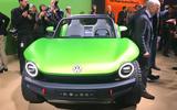 Volkswagen ID Buggy concept Geneva motor show 2019 - nose