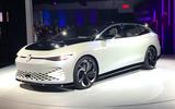 VW ID Space Vizzion at LA motor show 2019 - front