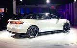 VW ID Space Vizzion at LA motor show 2019 - rear