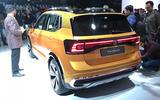 New Delhi show 2020 - Volkswagen Taigun rear