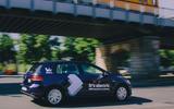 Volkswagen WeShare e-Golf driving