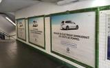 VW Paris station advert takeover
