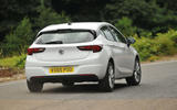 Vauxhall Astra rear