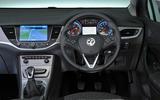 Vauxhall Astra dashboard