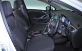 Vauxhall Astra interior