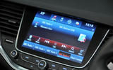 Vauxhall Astra infotainment