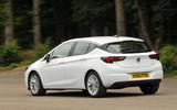 Vauxhall Astra rear quarter