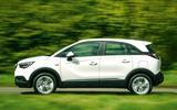 Vauxhall Crossland X side profile
