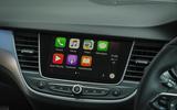 Vauxhall Crossland X Apple CarPlay