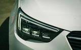 Vauxhall Crossland X LED headlights