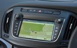 Vauxhall Zafira Tourer infotainment system