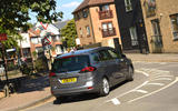 Vauxhall Zafira Tourer rear