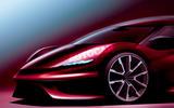 Dream car render front