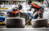 WEC Goodyear tyre change