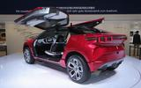 The Wey XEV is a plug-in hybrid SUV concept