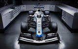 2020 Williams F1 livery official images - at HQ nose