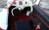Messerschmitt KR200 driving position