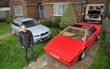 2009 BMW 318i Touring, 1985 Lotus Esprit, 1990 Peugeot 205 GTI