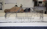 Benedict Radcliffe's wireframe sculptures - how they're made