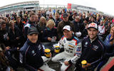 BTCC stars pair with Macmillan for the World's Fastest Coffee Morning