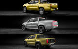 The Mercedes-Benz X-Class tailgate